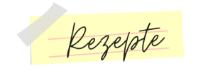 Rezepte Notizzettel