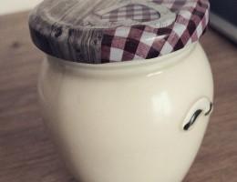 Joghurt selbstgemacht im Glas